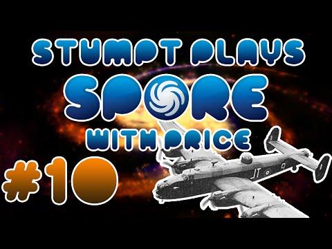 Stumpt Plays - Spore - #10 - Block the Sun with Garys