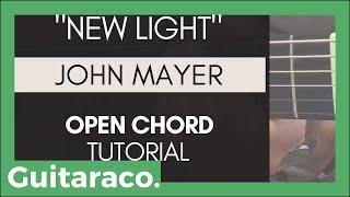 Download Lagu John Mayer - New Light // EASY Guitar Tutorial (4 Open Chords) Mp3