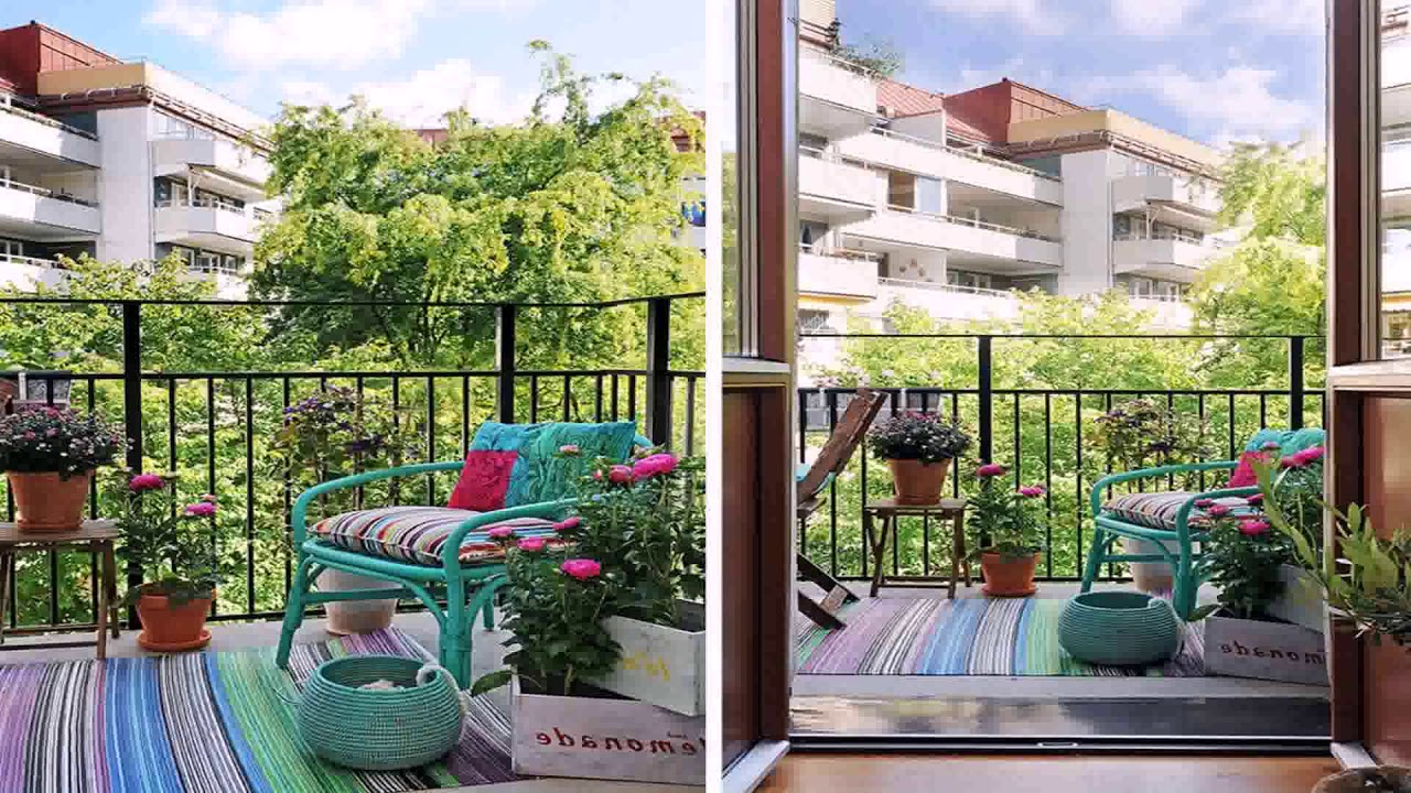 Privacy Ideas For Small Apartment Patio - YouTube