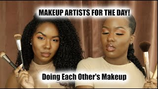 Doing Each Other's Go to Make -up Looks