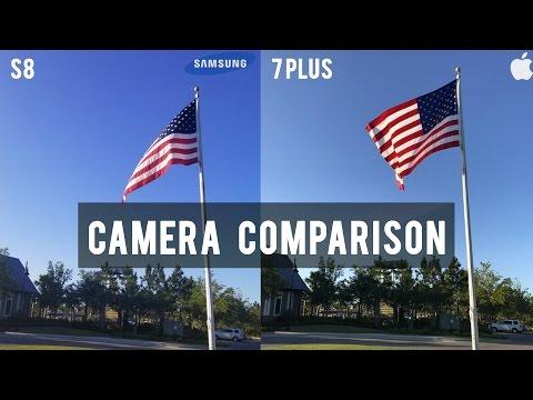 Galaxy S8 Vs. IPhone 7 Plus: Ultimate Camera Test Comparison!