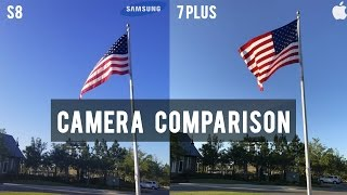Galaxy S8 vs. iPhone 7 Plus: Ultimate Camera Test Comparison!