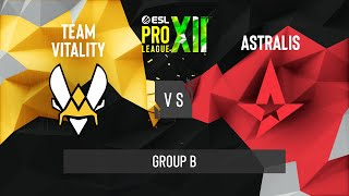 CS:GO - Team Vitality vs. Astralis [Nuke] Map 1 - ESL Pro League Season 12 - Group B - EU