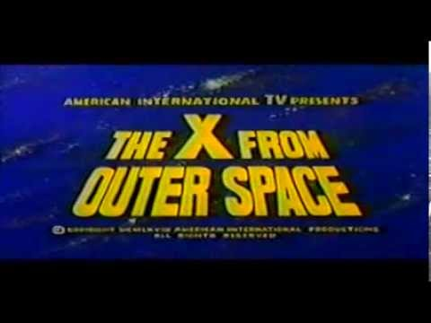 x from outer space AIP dub credits