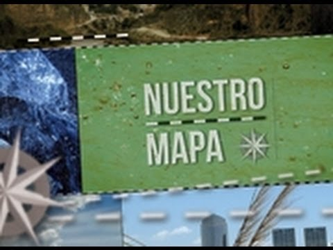 Nuestro Mapa. Los glaciares de la Patagonia.