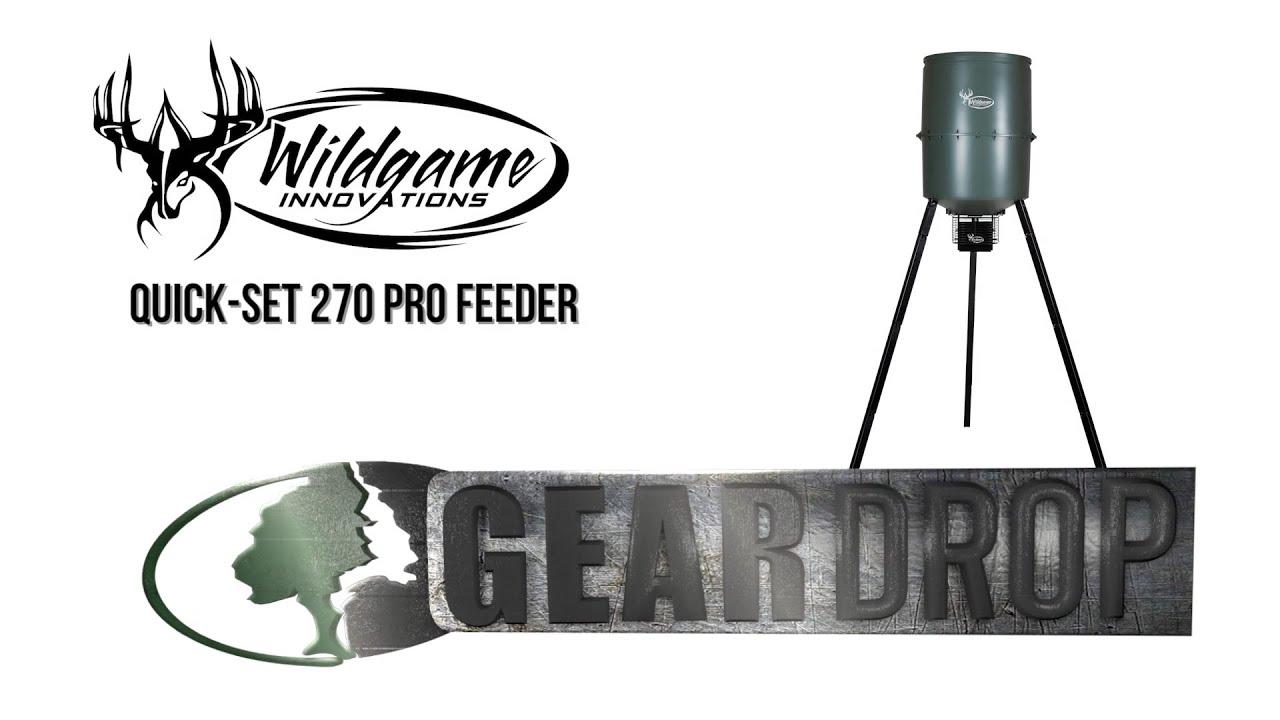 WildGame Innovations Quick Set 270 Pro Feeder