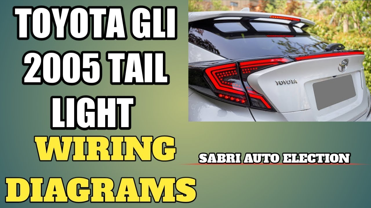 Toyota Corolla Tail Light Wiring Diagrams In Urdu And
