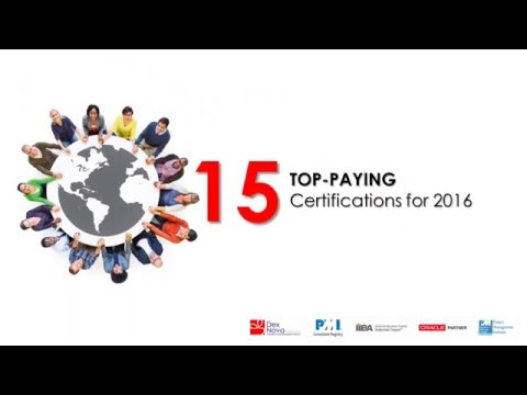 15 Top Paying Certifications For 2016 - YouTube
