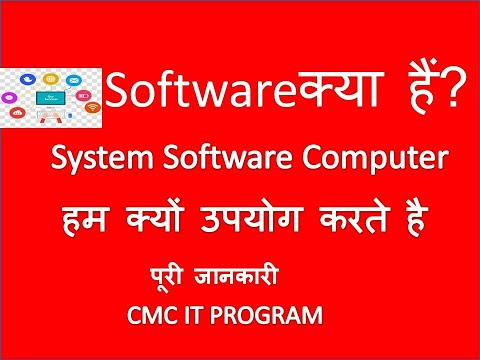 Computer Software || System Software || Importance Of System Software  In HINDI
