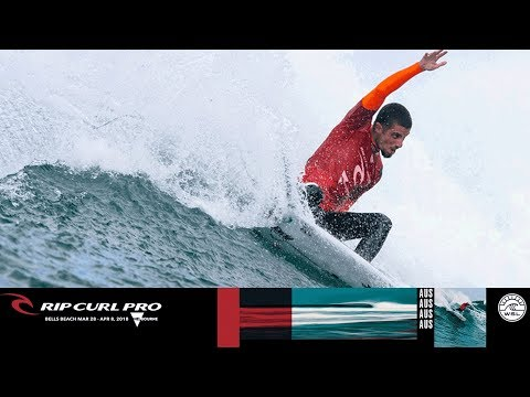 Toledo vs. Colapinto vs. February - Round One, Heat 1 - Rip Curl Pro Bells Beach 2018