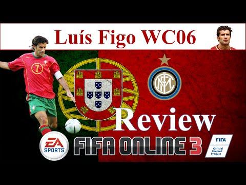 I Love FO3   Figo WC06 Review   Đánh Giá Luis Figo WC 06 Fifa Online 3