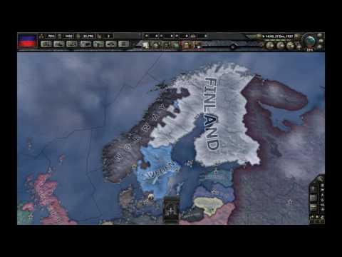 Scandinavian War - Denmark vs Sweden vs Norway vs Finland - HoI 4 - 1936