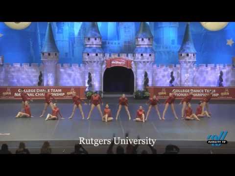 Rutgers University Dance Team - D1A Jazz Finals 2017