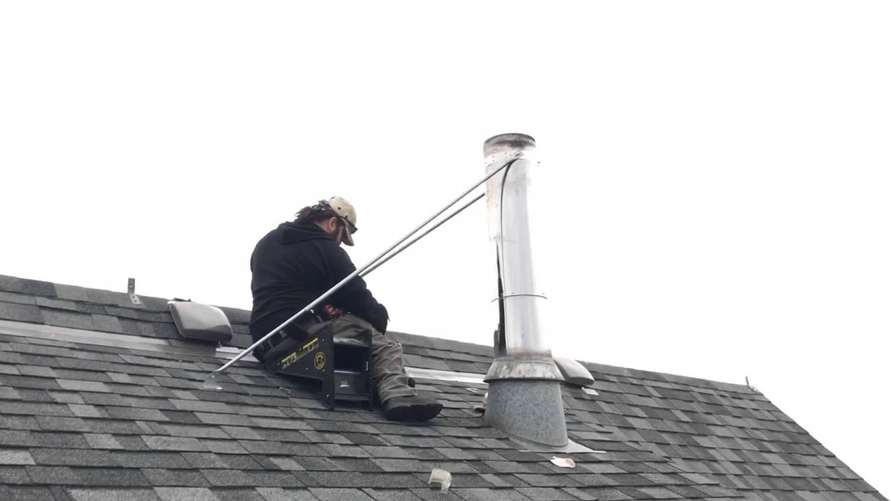 Chimney Braces Required Over Five Feet Flue Guru Youtube
