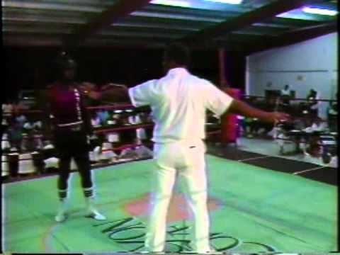 Amateur Boxing Antigua 1985 with Warren Woodberry
