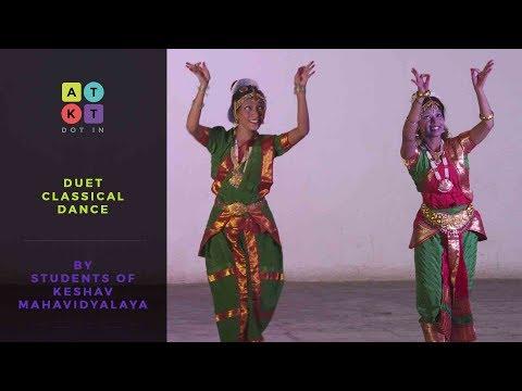 Duet Classical Dance by Students of Keshav Mahavidyalaya | Pulse 2017