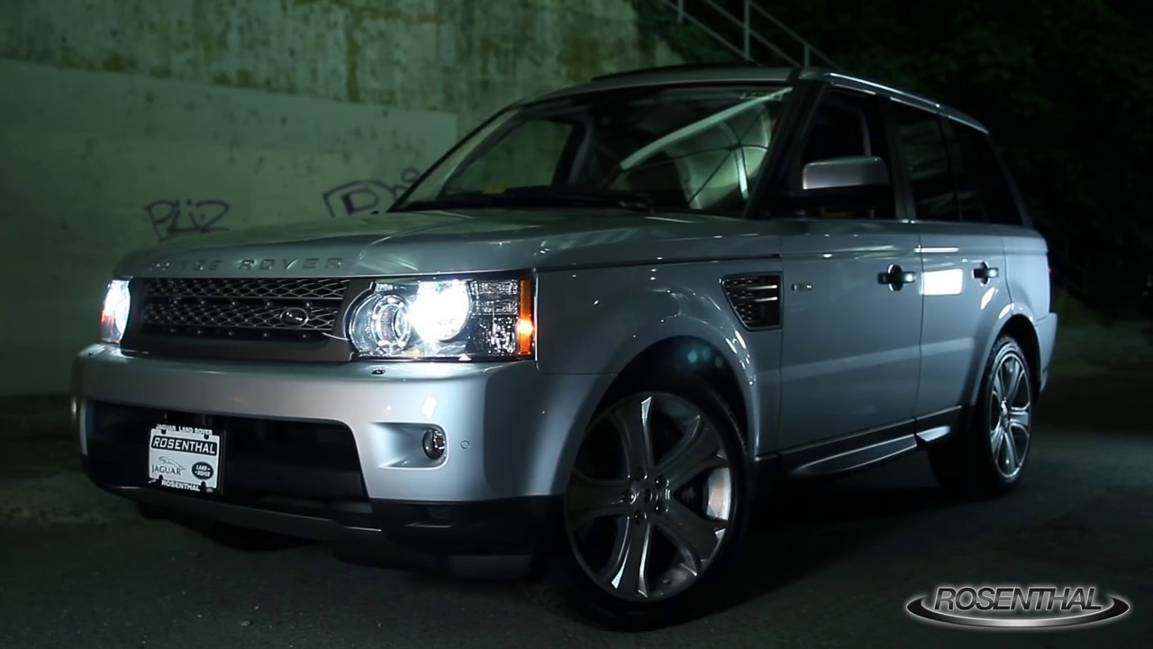 2010 range rover sport supercharged test drive review youtube. Black Bedroom Furniture Sets. Home Design Ideas