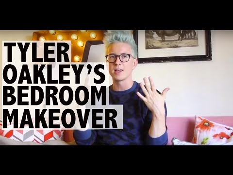 Tyler Oakley: Bedroom Makeover