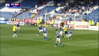 Oldham vs Coventry - League One Highlights 2013/2014