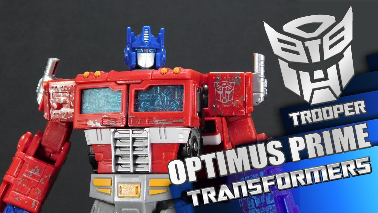 Optimus Prime Transformers War for Cybertron Siege - Trooper Reviews