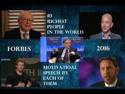 10 Richest People In The World 2016
