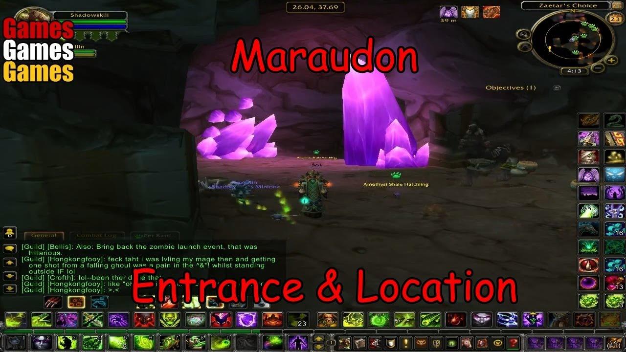 maraudon entrance location world of warcraft original dungeons youtube. Black Bedroom Furniture Sets. Home Design Ideas