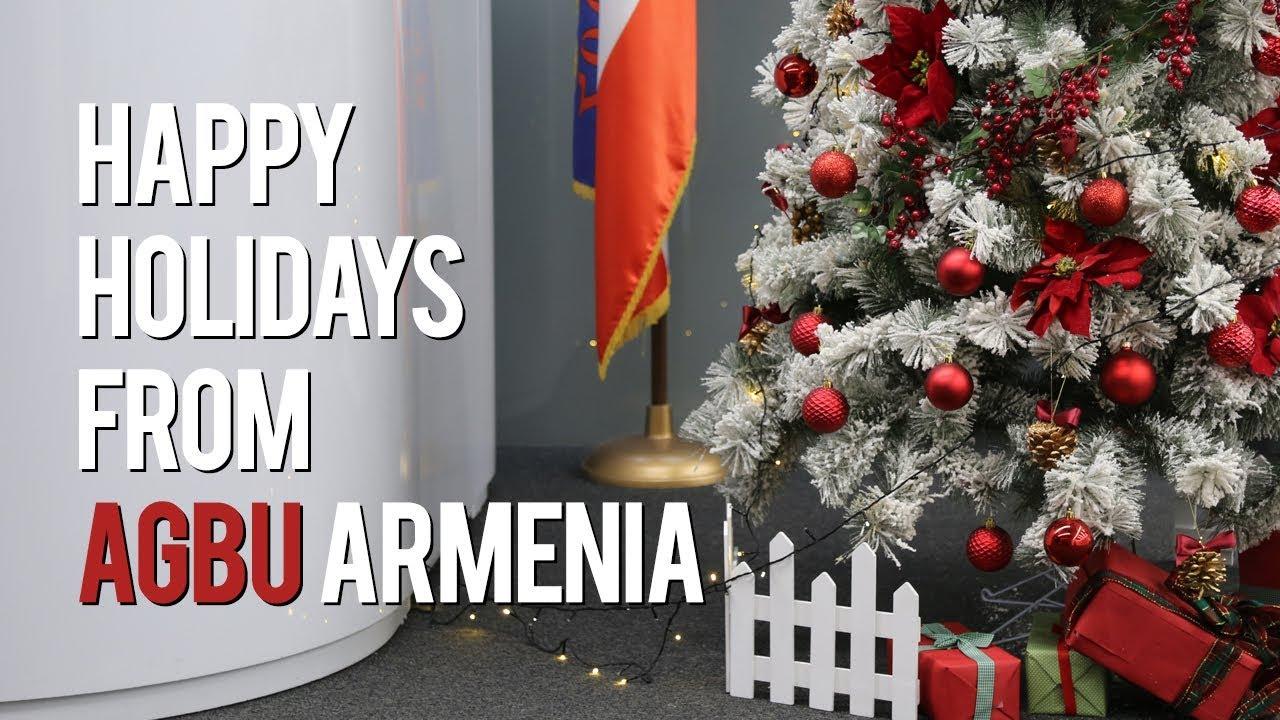 2018 Holiday Greetings From Agbu Armenia Youtube