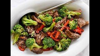 Кулинария- Мясо по-китайски с брокколи
