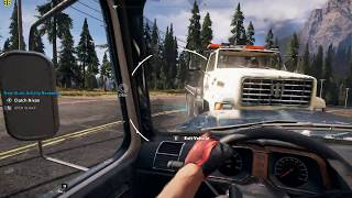 Far Cry 5 first minutes i5 4460 - gtx 950 - high settings - helicopter & car ride