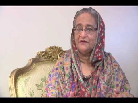 Bangladesh PM Sheikh Hasina interviewed by VOA