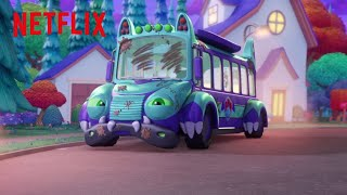 Bus Needs A Bath | Super Monsters | Netflix Jr