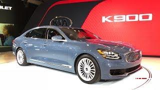 2019 Kia K900 – Redline: First Look – 2018 NYIAS