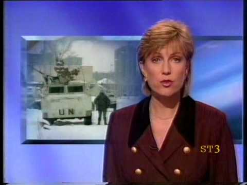 BBC One News Weather 25-12-94