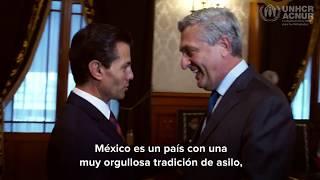 Alto Comisionado resalta el papel de México en la acogida de personas refugiadas