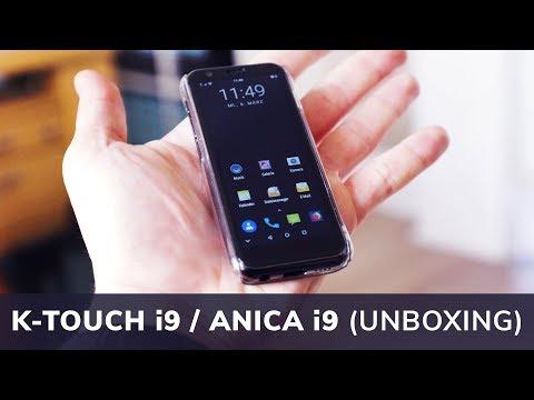 ANICA i9   K-TOUCH i9 - Mini Smartphone (Unboxing)   Techupdate