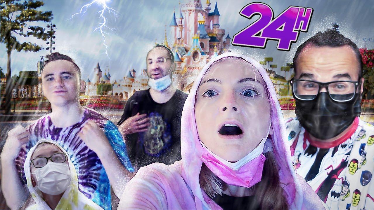 24H EN FAMILLE POUR LA RÉOUVERTURE DE DISNEY (ça tourne mal !) | Sophie Fantasy