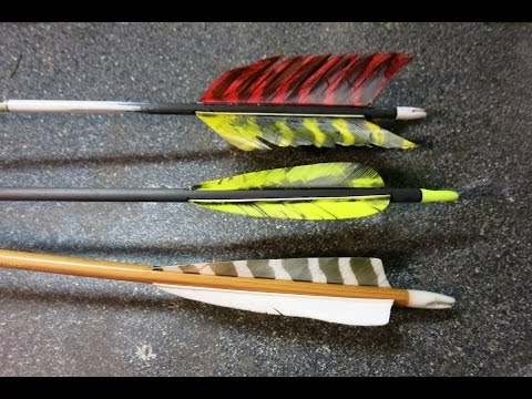 Should you use Left or Right Wing fletching on your arrows