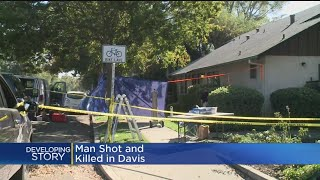 Man Shot And Killed In Davis