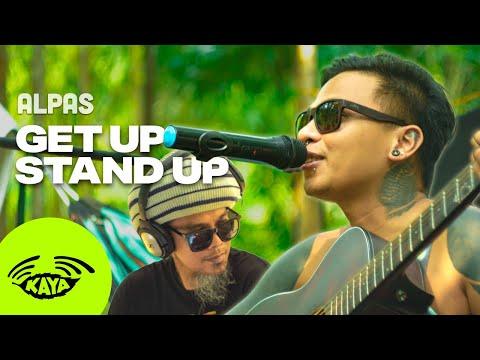 "Alpas (Tatot and Dhyon) - ""Get Up Stand Up"" by Bob Marley (Live w/ Lyrics) - Kaya Camp"