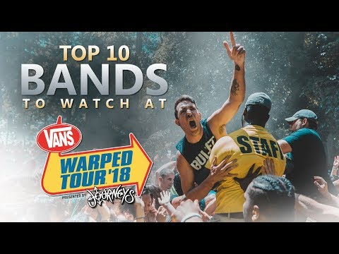 Top 10 Bands to Watch at Warped Tour 2018