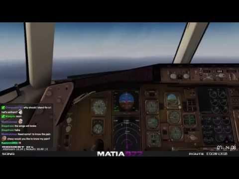Boeing 757-200 | Luton - Gibraltar | Horrific Landing | 21 Mar 2015