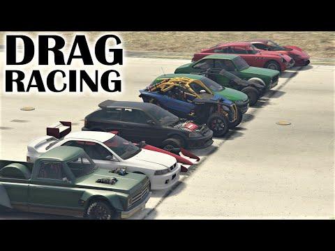Drag Racing The New Casino Heist DLC Vehicles