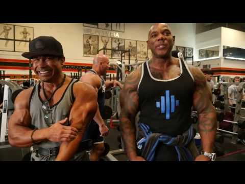 Flex Wheeler 2017 Training for Comeback at 51 years old