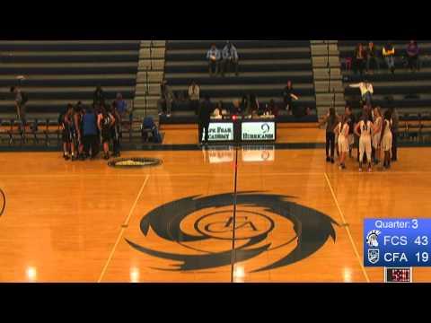CFA Varsity Girls vs. Fayetteville Christian School