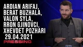 PRESSING, Ardian Arifaj, Berat Buzhala, Valon Syla, Rron Gjinovci, Xhevdet Pozhari – 29.04.2021