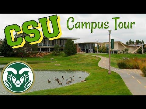 Colorado State University Campus Tour!