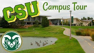 Colorado State University Campus Tour!