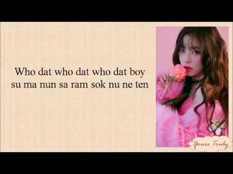 Red Velvet (레드벨벳) - Bad Boy (Easy Lyrics)