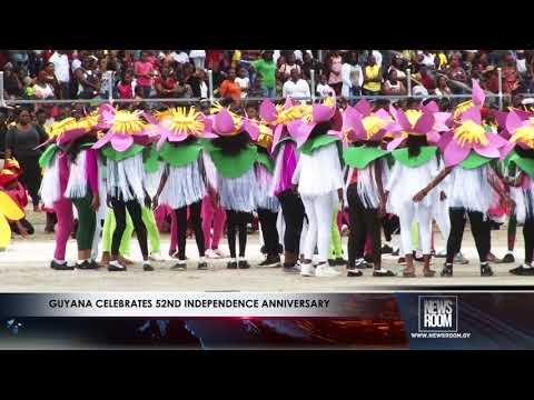 Guyana celebrates 52nd Independence Anniversary