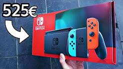 Katastrophe: Black Friday / Zu viel bezahlt? / Nintendo Switch (2019), Spiele & Zubehör Unboxing